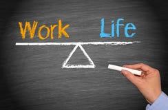 Работайте баланс жизни Стоковые Фотографии RF