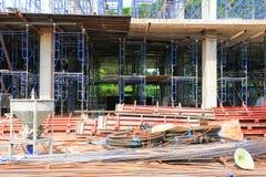 Работайте конструкция и ремонтина в здании рабочего места места Стоковое Изображение RF