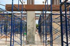 Работайте конструкция и ремонтина в здании рабочего места места Стоковое Изображение