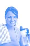 работать женщину Стоковое Фото
