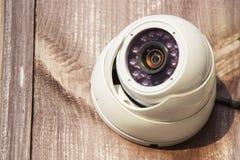 Работать камеры слежения CCTV внешний Стоковая Фотография