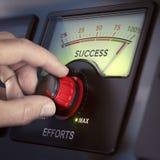 Работать крепко, который нужно преуспеть Стоковая Фотография RF