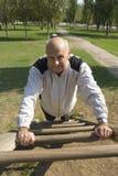 работать старший человека Стоковые Фотографии RF