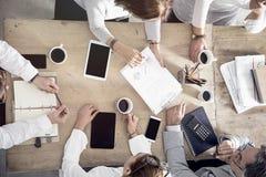 Работая концепция деловой встречи Стоковые Изображения RF