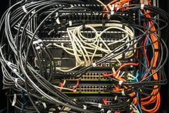 Работая оборудование сети стоковые фото
