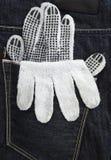 Работая перчатка Стоковые Изображения