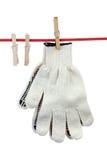2 работая перчатки Стоковые Изображения RF