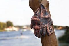 Работая перчатки художника улицы Стоковое Изображение