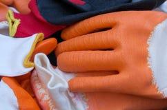 Работая перчатки Стоковые Изображения