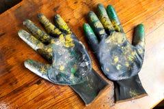 Работая перчатки Стоковые Изображения RF