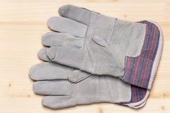 Работая перчатки Стоковая Фотография
