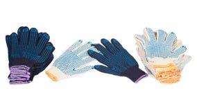 Работая перчатки Стоковые Фотографии RF