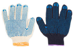 Работая перчатки Стоковое Изображение