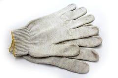 Работая связанные перчатки Стоковая Фотография RF
