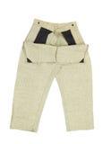 Работая цвет серого цвета брюк. стоковые изображения rf