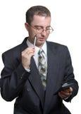 работа бизнесмена Стоковое Изображение