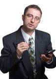 работа бизнесмена Стоковое Изображение RF