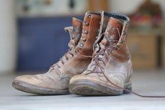 работа ботинок Стоковое Изображение RF