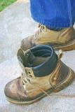 работа ботинок Стоковые Изображения RF