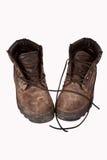 работа ботинок Стоковое Фото