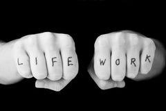 работа всей жизни баланса Стоковая Фотография RF