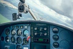 Работа в облаках Стоковые Фото