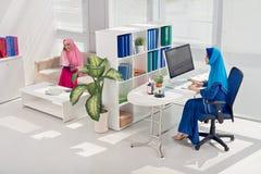 Работа в офисе Стоковое Изображение