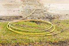 Работа в процессе замены газопровода Стоковые Изображения