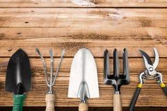 работа лета оборудования садовничая напольная Стоковая Фотография