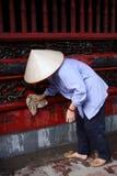 работа женщины Вьетнама Стоковое Изображение