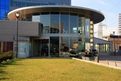 работа зданий самомоднейшая квартальная Стоковая Фотография