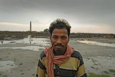 работа Индии поля кирпича Стоковые Фотографии RF