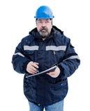 Инженер в шлеме Стоковая Фотография RF