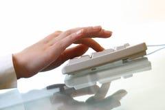 работа клавиатуры стоковое фото rf