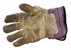 работа кожи для перчаток Стоковые Изображения RF