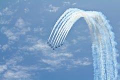 работа команды неба Стоковая Фотография RF