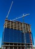 Работа конструкции высотного здания Стоковое фото RF
