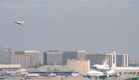 Работа космического летательного аппарата многоразового использования, Los Angeles 2012 Стоковая Фотография RF