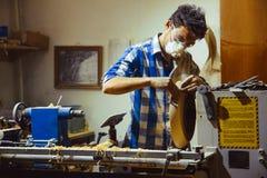 Работа машин Woodworking Стоковые Фото