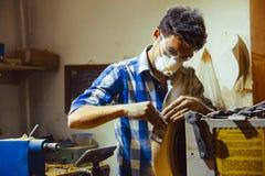 Работа машин Woodworking Стоковая Фотография