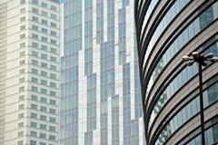 работа места офиса дела жилого здания небоскреб дела здания высокий самомоднейший Экстерьер здания Стоковое Изображение