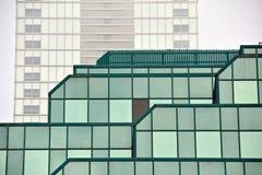 работа места офиса дела жилого здания небоскреб дела здания высокий самомоднейший Экстерьер здания Стоковые Фото
