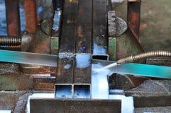 работа металла стоковое изображение