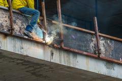 Работа металла Стоковая Фотография