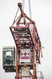 Работа на кране башни стоковые фотографии rf