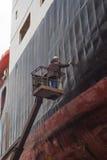 Работа на доске мор-ремесла Стоковая Фотография RF