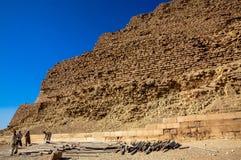 Работа на пирамидах Стоковая Фотография RF