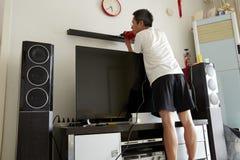 Работа на улучшении дома Стоковые Изображения RF
