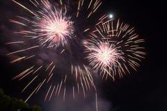 Работа огня красоты для празднует Стоковое Изображение