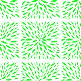 Plant leaves pattern in the form of tiles vector illustration